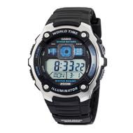 Casio Men's Silver Tone Multifunction Sport Watch AE2000W-1AV