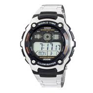 Casio Men's Sport Watch AE2000WD-1AV Silvertone Black