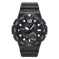 Casio Men's Analog Digital Dive Style Watch AEQ100W-1AVCF Black