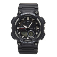Casio Men's Analog Digital Watch AEQ110W-1AVCF Black