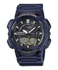 Casio Men's Databank Digital Watch AEQ110W-2AVCF Blue