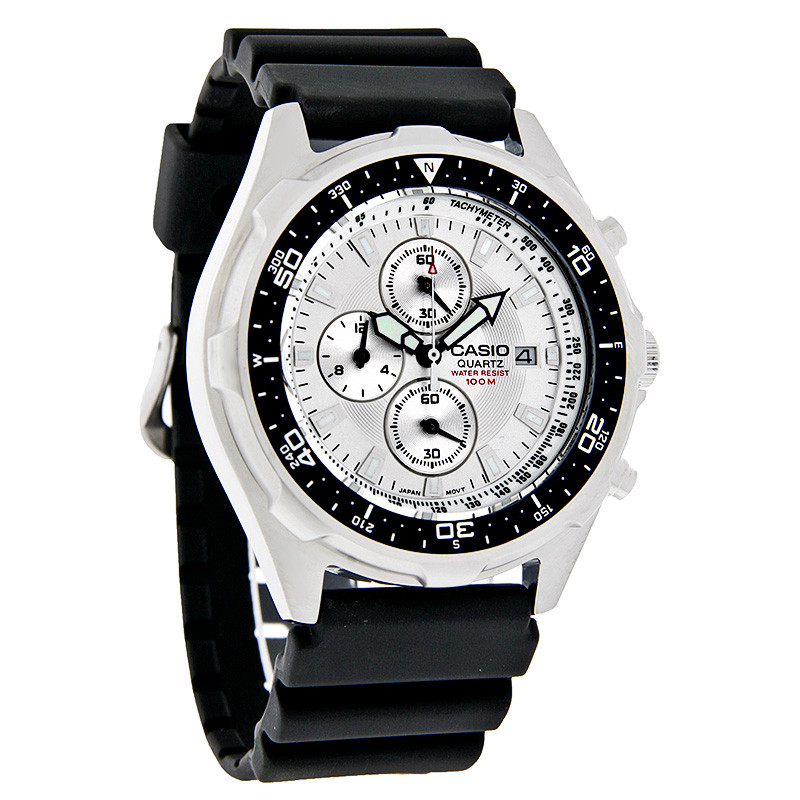 5df8dda63 Casio Men's Dive Style Stainless Steel Chrono Watch AMW330-7AV ...