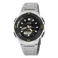 Casio Men's Slim Solar Multi-Function Analog-Digital Watch AQS800WD-1EV