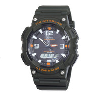Casio Men's Solar Ana-Digi Sports Watch AQS810W-3AVCF Green