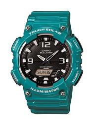Casio Men's Solar Ana-Digi Sports Watch AQS810WC-3AVCF Glossy Green