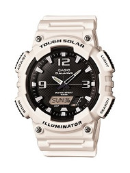 Casio Men's Solar Ana-Digi Sports Watch AQS810WC-7AVCF White
