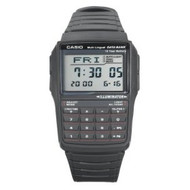 Casio Men's Data Bank Digital Watch DBC32-1A  Black