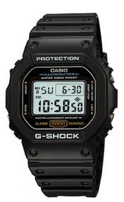 Casio Men's G-Shock Classic Digital Watch DW5600E-1V Black 200M