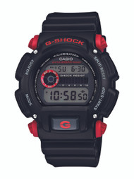 Casio Men's DW9052-1C4CR G-Shock Black Watch with Red Pushers