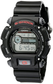 Casio Men's G-Shock Digital Watch DW9052-1V Black Resin