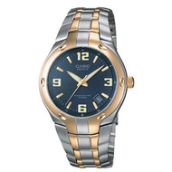 Casio Men's Edifice Two-Tone Stainless Steel Watch EF106SG-2AV