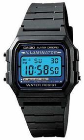 Casio Men's Basic Digital Watch F105W-1A Black
