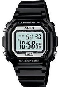 Casio Glossy Digital Watch F108WHC-1ACF Black