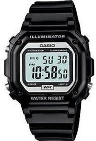 Casio Glossy Digital Watch F108WHC-1ACF Black