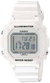 Casio Unisex Digital Watch F108WHC-7BCF Glossy White