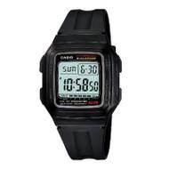 Casio Men's Resin Digital Sport Watch F201WA-1A Black