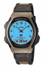 Casio Men's Forester Analog Sport Watch FT600WB-5BV Brown Beige
