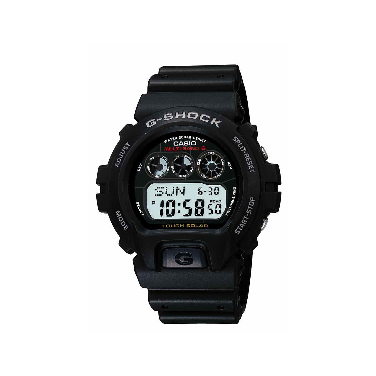 9aa6af832d4a Casio Men s G-Shock Tough Solar Digital Sport Watch GW6900-1 Black. Your  Price   110.03 (You save  4.07). Image 1