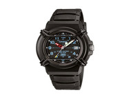 CASIO Men's Sport Watch HDA600B-1BV Black 10-Year Battery