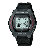 Casio Men's Sport Watch HDD600-1AV Black 10-Year Battery