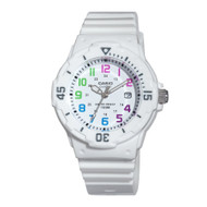 Casio Women's  Dive Series Diver Look Watch LRW200H-7BVCF White Colored Numb