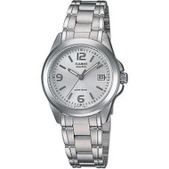 Casio Women's Classic Stainless Steel Bracelet Watch LTP1215A-7ACR