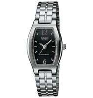 Casio Women's  Classic Analog Bracelet Watch LTP1254D-1A Black Dial