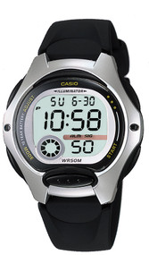 Casio Women's Illuminator Digital Watch LW200-1AV Black Band