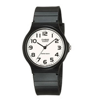 Casio Unisex Analog Watch MQ24-7B Black Resin