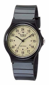 Casio Men's Classic Analog Watch MQ24-9B Black