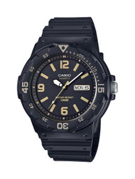 Casio Men's  Dive Watch MRW200H-1B3VCF Black Resin 100M