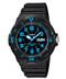 Casio Men's Dive Watch MRW200H-2BV Black Resin