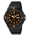 Casio Men's Dive Watch MRW200H-4BV Black Resin