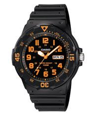 Casio Men's Dive Watch MRW200H-4BV Black Resin