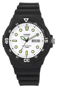 Casio Men's Dive Watch MRW200H-7EVCF Black Resin
