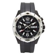 Casio Men's Super Illuminator Watch MTD1082-1AVCF Analog Black Resin