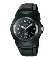 Casio Men's Classic Analog Watch MW600F-1AV Black Black Dial