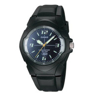 Casio Men's Classic Analog Watch MW600F-2AV Black Blue Dial