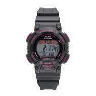 Casio Women's Solar Runner Digital Display Quartz Watch STLS300H-1CCR Black