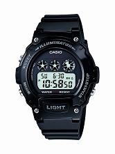 Casio Kids  Digital Watch W214HC-1AVCF Black