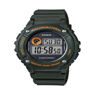 Casio Men's Led Sport Alarm Watch W216H-3BV Green