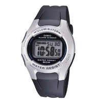 Casio Men's Black Digital Sport Watch  W42H-1AV Black Silver