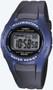 Casio Men's Black Digital Sport Watch W43H-1AV Black Blue
