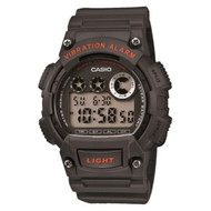 Casio Men's Super Illuminator Watch W-735H-1A3VCF Black Grey