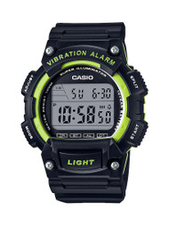 Casio Men's Digital Sport Watch W736H-3AV Black Green