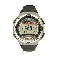 Casio Men's Moon Phase Tide Graph Sport Watch W753-1AV Black Gray