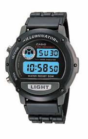 Casio Men's Sports Wrist Watch W87H-1V Black