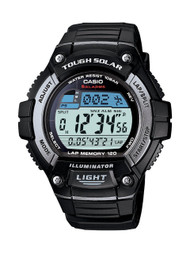 Casio Men's Classic Tough Solar Digital Watch WS220-1A Black