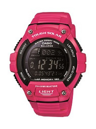 Casio Women's Tough Solar Digital Watch WS220C-4BVCF Pink