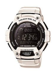 Casio Men's Classic Tough Solar Digital Watch WS220C-7BVCF White